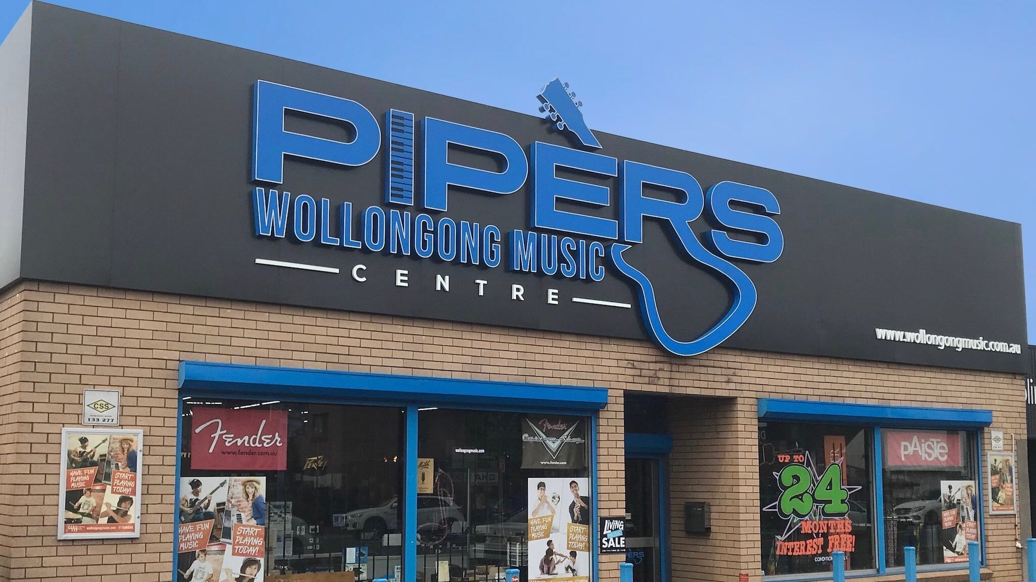 Pipers Wollongong Music Center